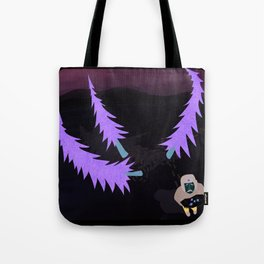 Lost in three pine trees Tote Bag