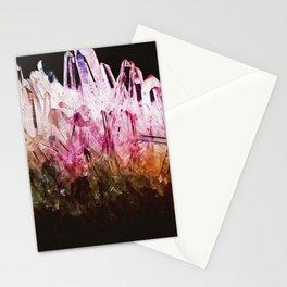 Rainbow quartz Stationery Cards