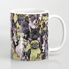Social French Bulldog Mug