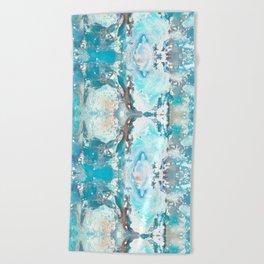 Sea Spray Pattern - Casart Sea Life Treasures Collection Beach Towel