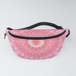 Pastel Bohemian Pink White Mandala Fanny Pack