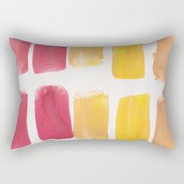 14   190321 Watercolour Abstract Painting Rectangular Pillow