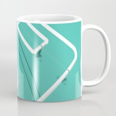 Neon Turntable 3 - 3D Art Mug