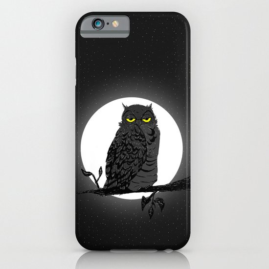 Night Owl V. 2 iPhone & iPod Case