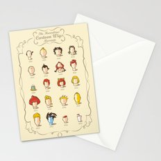 The Marvelous Cartoon Wigs Museum Stationery Cards