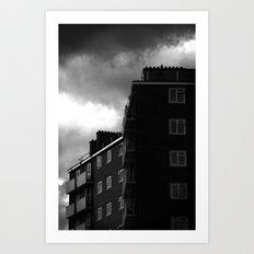 Tottenham Flats Art Print