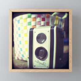 Say cheese Framed Mini Art Print
