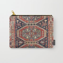 Kuba Sumakh Antique East Caucasus Rug Print Carry-All Pouch