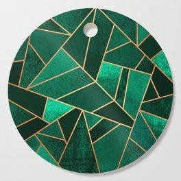 Emerald and Copper Cutting Board