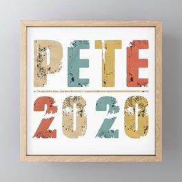 Pete Buttigieg 2020 Framed Mini Art Print