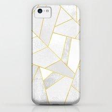 White Stone Slim Case iPhone 5c