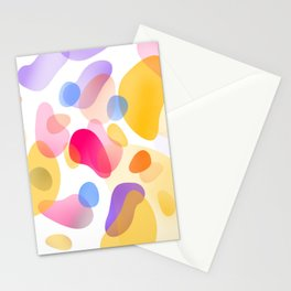 Pattern, wallpaper, forme e colore Stationery Cards