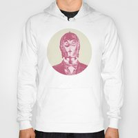 c3po Hoodies featuring C3PO by NJ-Illustrations