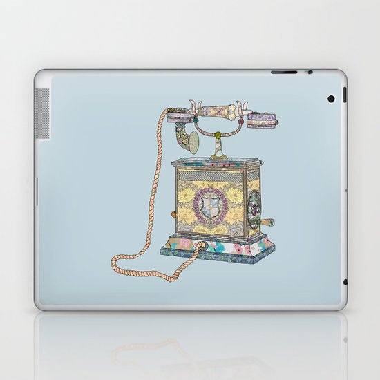 waiting for your call since 1896 Laptop & iPad Skin