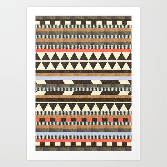 DG Aztec No.1 Art Print
