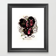 Tangle Framed Art Print