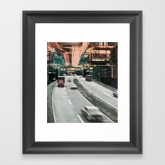Motor Away Framed Art Print