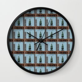 Pure Milk Montreal Wall Clock