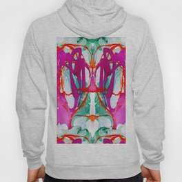 A pink marble Hoody