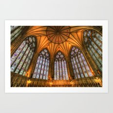 The Chapter House York Minster Art Print