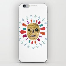 Halloween print: Mummy iPhone & iPod Skin