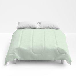 Light pistachio. Comforters