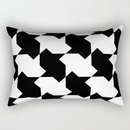 BW Tessellation 4 2 Rectangular Pillow