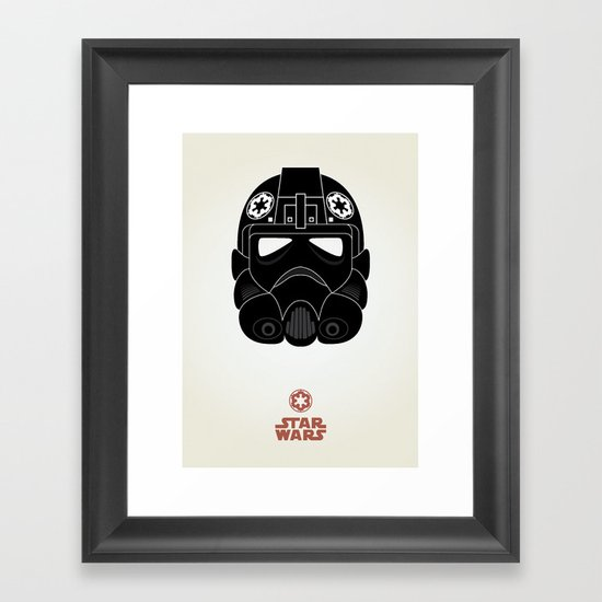 Imperial Pilot Framed Art Print