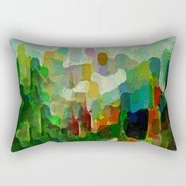 City Park Rectangular Pillow