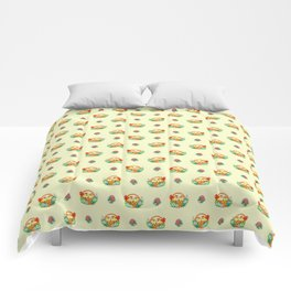 CHICKS-IN-A-BASKET Comforters