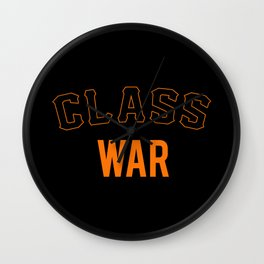 San Francisco Class War Wall Clock