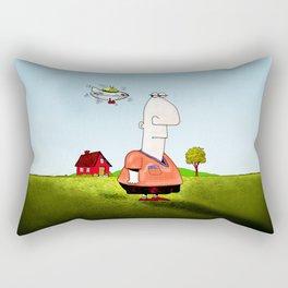 Little UFO Rectangular Pillow