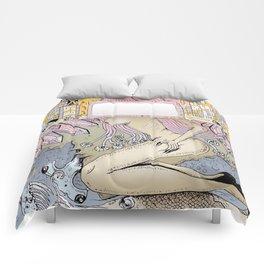 City Artwork Comforters
