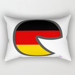 Germany Smile Rectangular Pillow