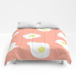 Sunny Side Up + Peach Comforters