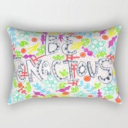 Be Tenacious Rectangular Pillow