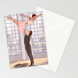 Winteriron Ballet Stationery Cards