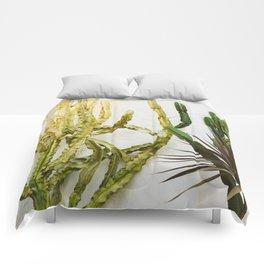 California Cactus Garden Comforters
