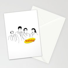 A Show About Nothing Stationery Cards