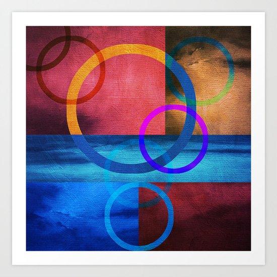 Textures/Abstract 91 Art Print