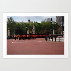 Soldiers March 6 Art Print