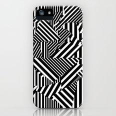 Dazzle Camo #01 - Black & White iPhone (5, 5s) Slim Case