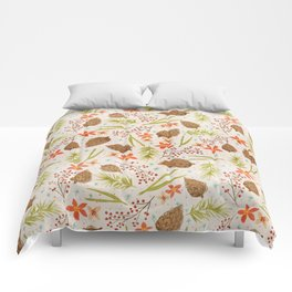 Quiet Walk In The Forest - A Soft And Lovely Pattern Comforters