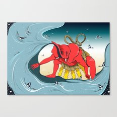 象撲 Canvas Print