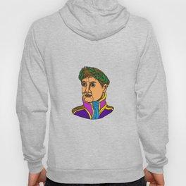 Emperor Napoleon Bonaparte Mono Line Hoody