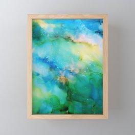 Blellow Framed Mini Art Print