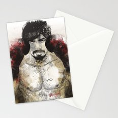 Manny Pacquiao - Bloody Gloves Stationery Cards
