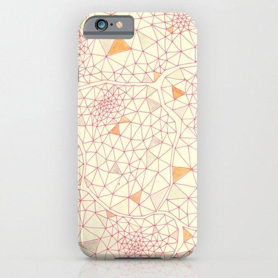 an abundance of triangular amoebas iPhone & iPod Case