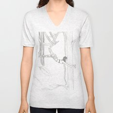 Vine-Swinging Unisex V-Neck