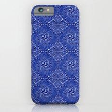 Muster - blauer Sturm Slim Case iPhone 6s